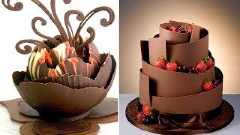 Amazing Chocolate Cake Decorating Videos Compilation - Top 20 Amazing Cakes Videos Compilation 2017