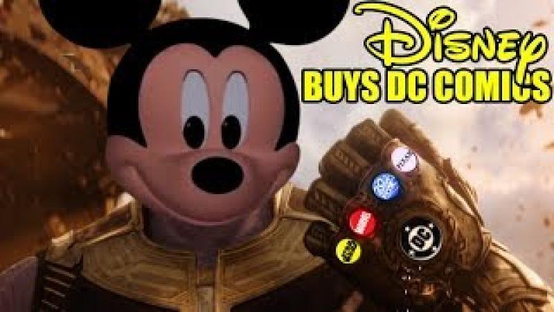 DISNEY BUYS DC COMICS - BATFLECK IS NOT AMUSED