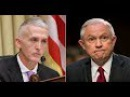 Trey Gowdy Hijacks Jeff Sessions Hearing – Silences the Room With Impassioned Plea Video