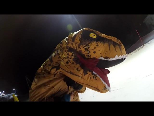 ОСТОРОЖНО! Динозавры в Сорочанах
