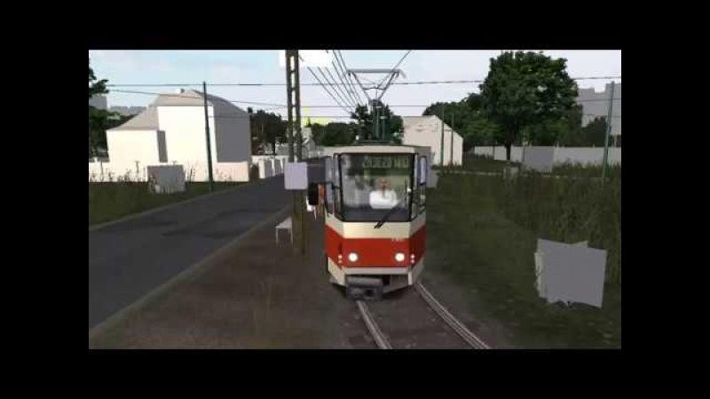 [OMSI] TATRA KT4D , Nowe Piekary Bus Tram , Line 5