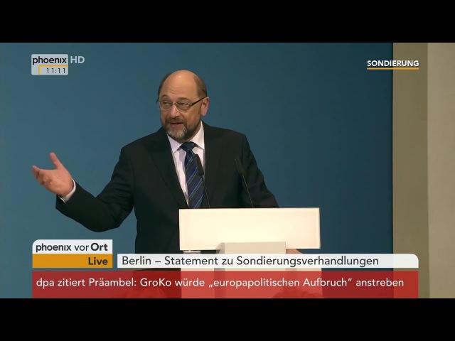 Schulz und Merkel Ein bisschen Spaß muss sein!