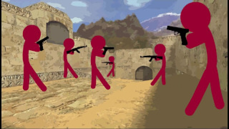 Flash Animation: Counter-Strike 1.6 Zombie Server