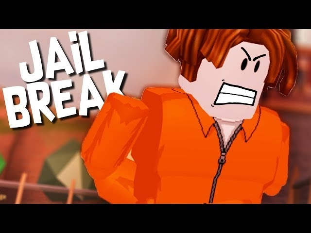 Побег из тюрьмы Jailbreake в ROBLOX!