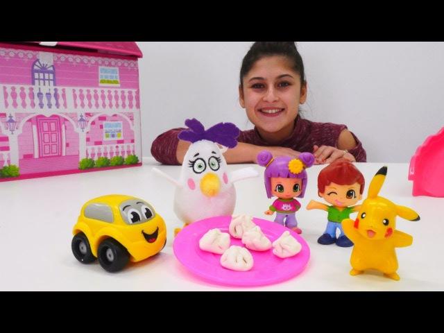 Ayşe'nin oyuncak kreşi! Havada🦋🐒ve karada🐒🐬yaşayan HAYVANLARI öğrenelim! Eğiticivideo