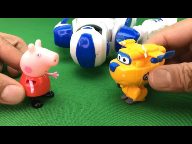 Super Wings Toys,Harika Kanatlar Learn color Peppa Pig Toys Funny