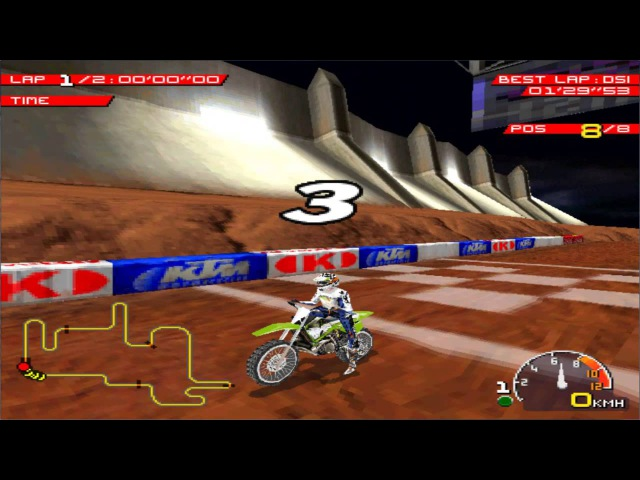 Playstation (PSX) - [9] - Moto Racer