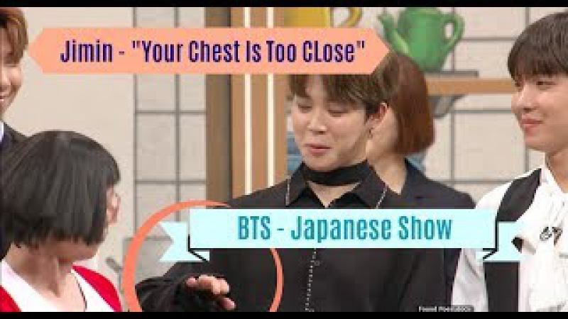 [ENG SUB] Funny BTS Japanese Show - Jimin Tries Not To Stare At Someone's Chest -吉本新喜劇×防弾少年団