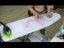Как обработать горловину обтачкой своими руками Мастер класс Асимметричное платье Виктории Часть 6
