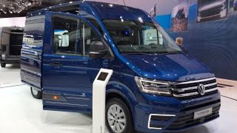 Volkswagen e-Crafter 2017 In detail review walkaround Interior Exterior