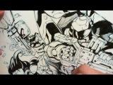 Joe Mad inking #4