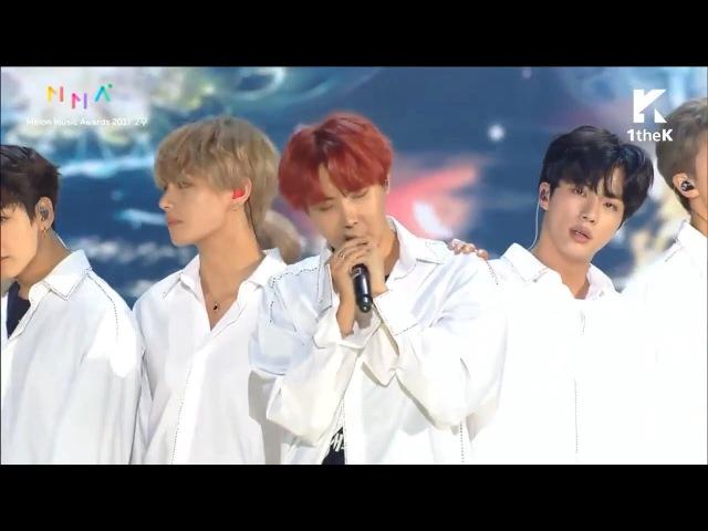 BTS 방탄소년단 Intro Performance DNA YNWA Spring Day Live @ Melon Music Awards 2017 멜론뮤직어워드