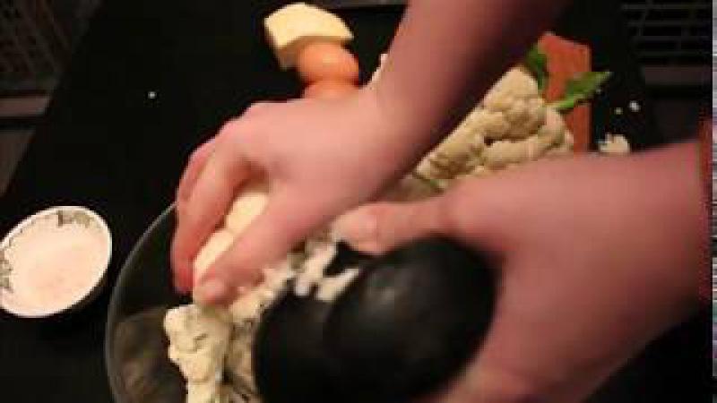 Лёгкая запеканка из цветной капусты. Рецепт от Smile Nastya.