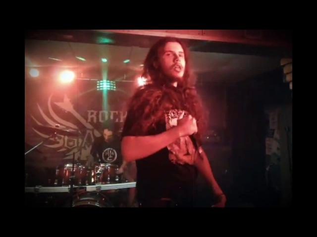 Encephalotomy Devouring Of The Living Live at Barvy club Kiev 03 02 2018