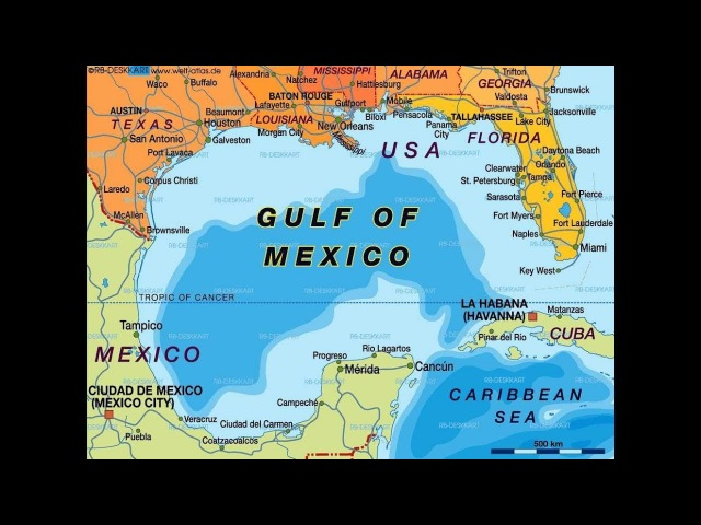 Gulf of Mexico Dangers: Possible Imminent Eruption?/Mar 2018