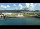 Boeing 737 800 landing in ST MAARTEN SXM  HD Cockpit view  ATC audio   Episode 14