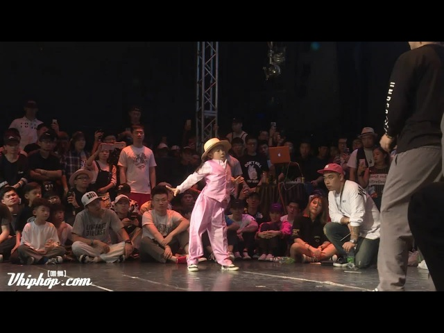 Amazing Chinese 7 Years Old Girl Popping Dance on Dance Vision vol.5