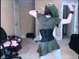 Sexy zelda cosplay hot girl cosplaying as Link