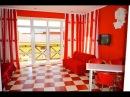 №31. Красный номер студия с кухней и видом на море и Аквапарк.