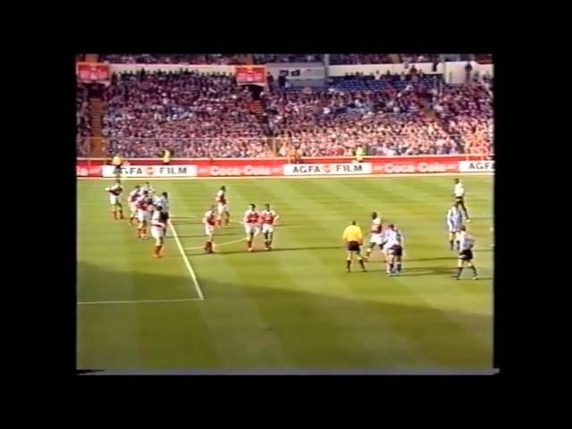 ARSENAL 2-1 WEDNESDAY, LEAGUE CUP FINAL, 18/4/1993