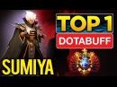 Sumiya TOP 1 Dotabuff Invoker - 7500 Matches, 70 Win - EPIC Dota 2