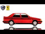 "Lancia Thema ""Ferrari"" 8.32 - Драйверские опыты Давида Чирони"