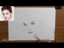 Как нарисовать портрет карандашом - обучающий урокосновы такой портрет!_HD.mp4