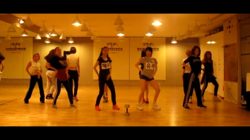 [VK] Girl's Day - Female President Dance practice 5
