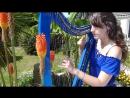 Marion Le Solliec Девушка красиво играет на арфе REQUIEM FOR A DREAM main theme - harp ⁄ harpe - Clint Mansell ⁄ Lux Aetern