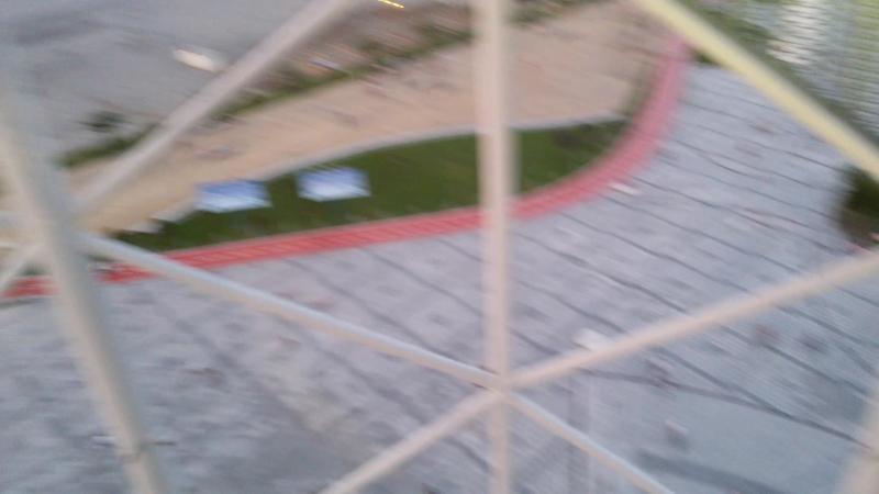 На смотровой площадке в башне Батуми