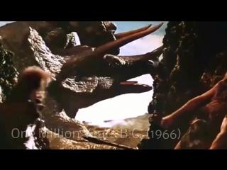Эволюция динозавров в кино/Evolution of Cinema Dinosaurs  (1920-2015)