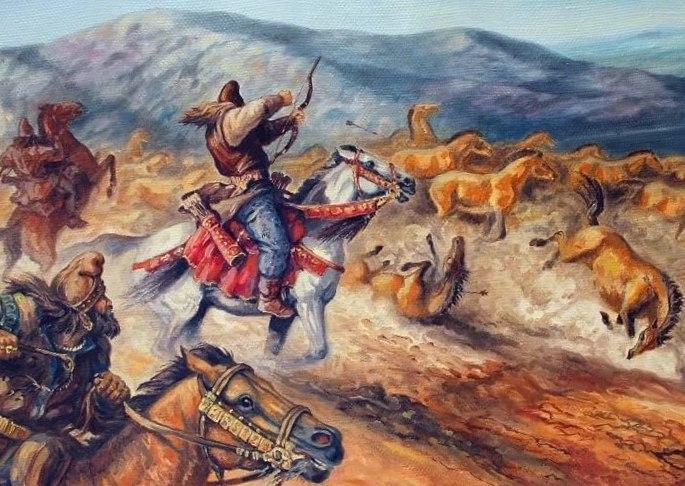 Меч скифов против ассирийцев