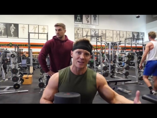 Training Arms with Ryan Terry _ His GF Got Hit On.mp4