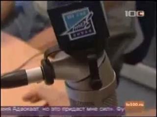 Николас Ломбертс в студии Радио Зенит