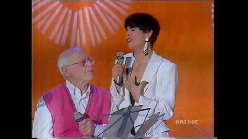 Mia Martini Cumme con Roberto Murolo e Enzo Gragnaniello a Serata Donore 1992