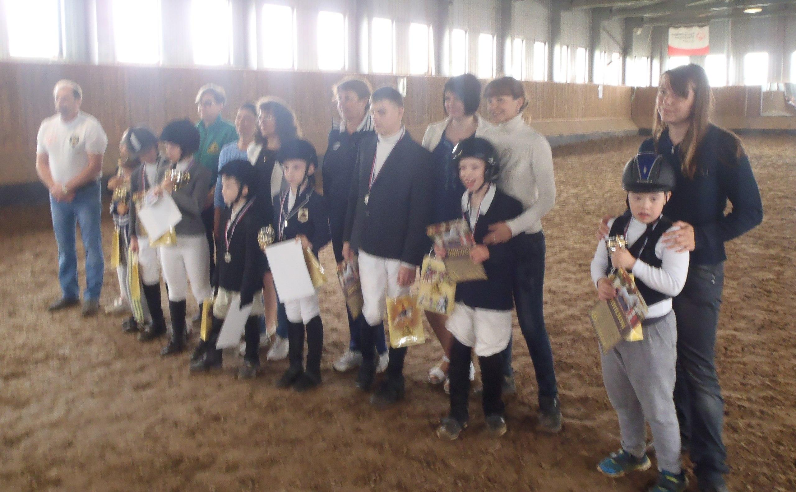Первый Кубок Нижегородской области по адаптивному конному спорту. КЭК «Ассамблея»