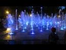 Поющие фонтаны в парке им. Горького, Казань