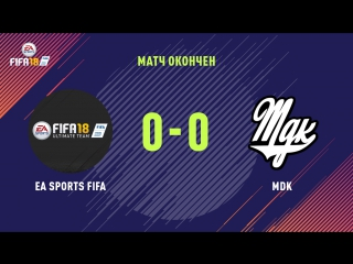 FIFA COOPERATIVE: EA SPORTS FIFA VS MDK