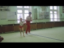 Аня и Артём 2-ое упражнение на 1-ый юношеский 12.2017
