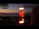 «Вокруг света во время декрета»: огненное шоу