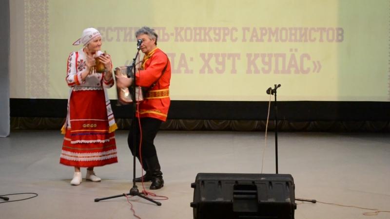 Выступление Тараканова А И на XVI Чувашском областном фестивале