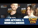 Luke Mitchell  Rebecca Breeds Interview at London MCM Comic Con