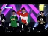 FANCAM 170516 Выступление Jung Jung с N'Sync - Pop @ Mnet Official