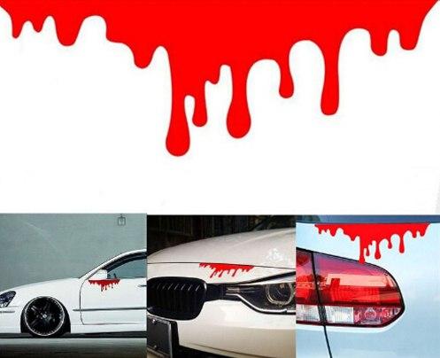 Кровавая наклейка