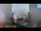 Первые секунды после обрушения в Ижевске