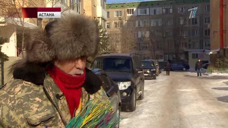 Астанада ең көңілді аула сыпырышусы тұрады
