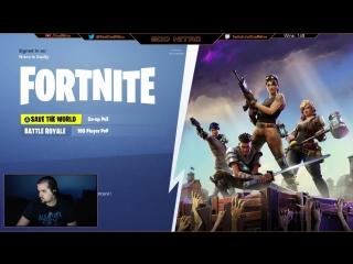 Nitro playing Fortnite! LIVE