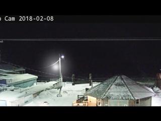 UFO avvistamento reale in Alaska _ 08_02_2018