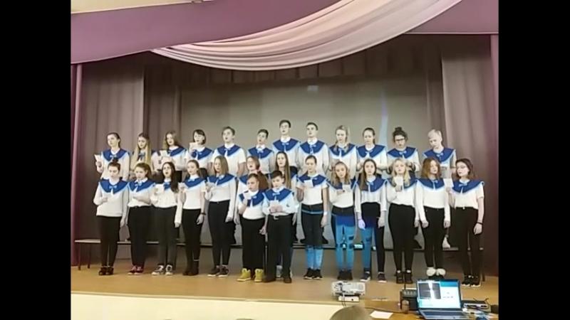 08.12.2017 команда школ 250 и 254 - Ульянка