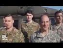 Щедрик у виконанні збройних сил США